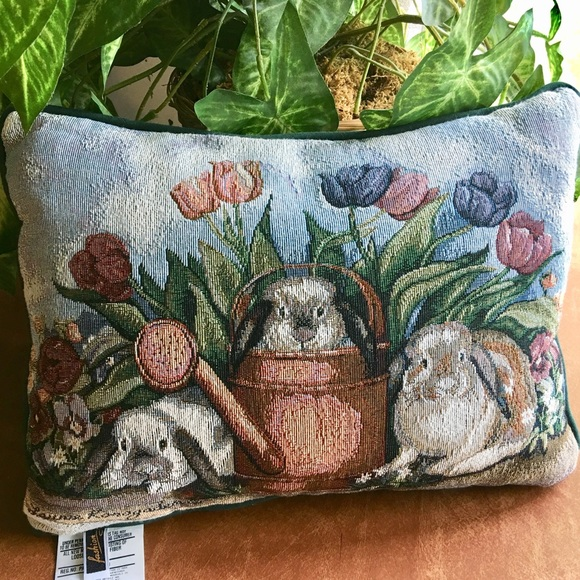 "Fashion Other - Fashion Decorative Pillow ""Gardeners Helpers"""